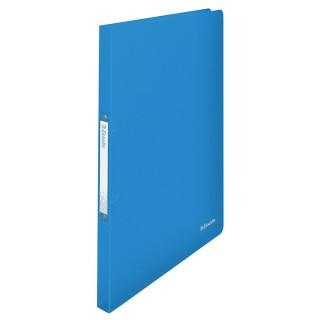 ESSELTE Ringbuch Vivida DIN A4 2-Ringmechanik PP blau transluzent