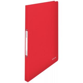 ESSELTE Ringbuch Vivida DIN A4 2-Ringmechanik PP rot transluzent