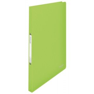 ESSELTE Ringbuch Vivida DIN A4 2-Ringmechanik PP grün transluzent