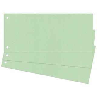 Trennstreifen 100 Stück 24 x 10,5 cm grün
