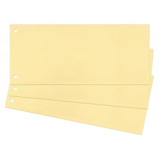 Trennstreifen 100 Stück 24 x 10,5 cm gelb