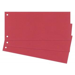 Trennstreifen 100 Stück 24 x 10,5 cm rot