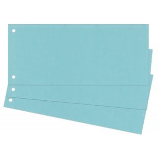 Trennstreifen 100 Stück 24 x 10,5 cm blau