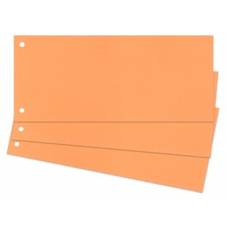 Trennstreifen 100 Stück 24 x 10,5 cm orange