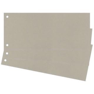 Trennstreifen 100 Stück 24 x 10,5 cm grau