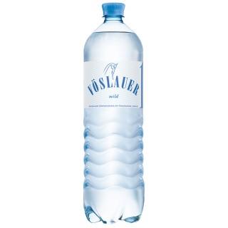 VÖSLAUER Mineralwasser mild 6 Flaschen à 1,5 Liter