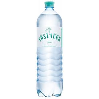 VÖSLAUER Mineralwasser ohne 6 Flaschen à 1,5 Liter