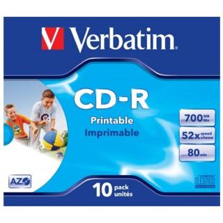 VERBATIM CD-Rohlinge 10 Stück 700 MB
