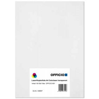 OFFICIO Laser/Kopierfolie 801 A4 100 Blatt
