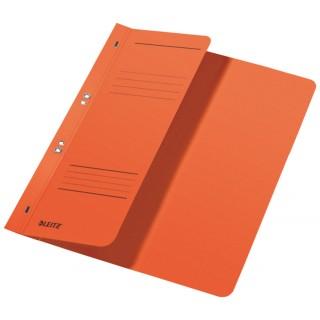 LEITZ Ösenhefter 3740 A4 halber Vorderdeckel orange