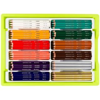 JOLLY Bunsttifte Big Box X-Big 180 Stück mehrere Farben