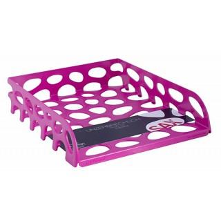 SAX Voronoi Briefkorb 555 A4 pink