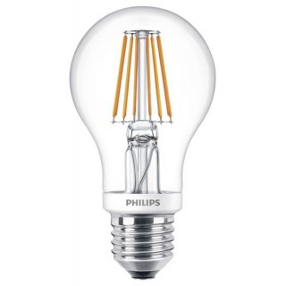 PHILIPS LED-Birne Classic LEDbulb 7,5-60 W E27 A60 Filament dimmbar