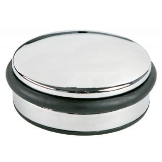 ALCO Türstopper flach 10 x 4 cm chrom