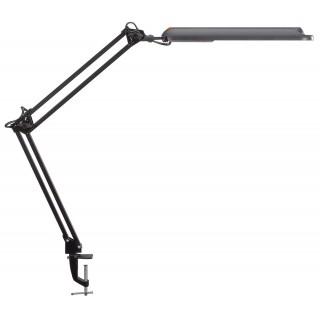 MAUL LED-Schreibtischleuchte atlantic mit Klemmfuß schwarz