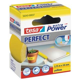 TESA Gewebeband 56343 38 mm x 2,75 m gelb