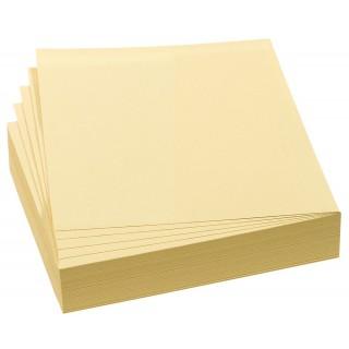 FRANKEN Moderationskarten 100 Stück 9,5 x 10,5 cm selbsthaftend gelb