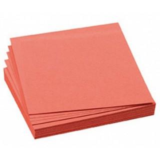 FRANKEN Moderationskarten 100 Stück 9,5 x 10,5 cm selbsthaftend rot