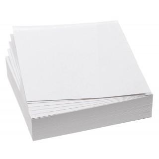 FRANKEN Moderationskarten 100 Stück 9,5 x 10,5 cm selbsthaftend weiß