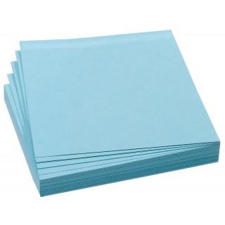 FRANKEN Moderationskarten 100 Stück 9,5 x 10,5 cm selbsthaftend blau