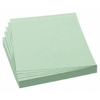 FRANKEN Moderationskarten 100 Stück 9,5 x 10,5 cm selbsthaftend grün
