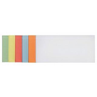 FRANKEN Moderationskarten 100 Stück 9,5 x 20,5 cm selbsthaftend farbig sortiert