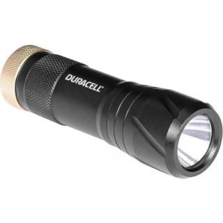 DURACELL Mini-Taschenlampe CMP-9 LED mit Handschlaufe schwarz