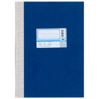 WURZER Registerbuch W668 A4 304 Blatt liniert