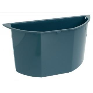 EXACOMPTA Papierkorbeinsatz Multiform 2,2 Liter für Papierkorb Octo blaugrau