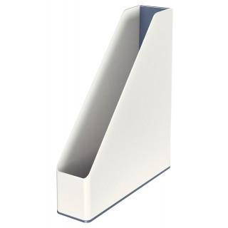 LEITZ Stehsammler 5362 WOW Duo weiß/grau metallic