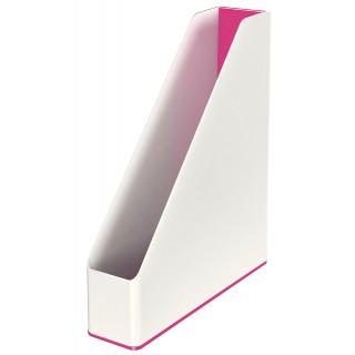LEITZ Stehsammler 5362 WOW Duo weiß/pink metallic