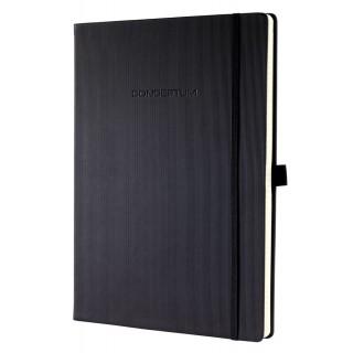 SIGEL Notizbuch CO112 A4 194 Blatt liniert mit Hardcover schwarz
