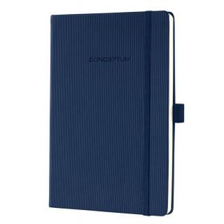 SIGEL Notizbuch CO656 A5 194 Blatt kariert mit Hardcover dunkelblau