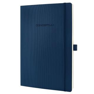 SIGEL Notizbuch CO316 A4 194 Blatt kariert mit Softcover dunkelblau