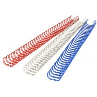 RECOsystems Drahtbinderücken 3:1 100 Stück 12,7 mm weiß