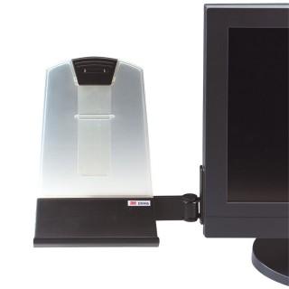 3M™ Konzepthalter DH445 25,5 x 23 cm schwarz/transparent