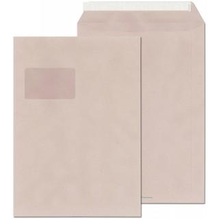 ÖKI Fenstertasche C4 Recycling mit Haftstreifen 100 g/m2 250 Stück grau