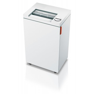 IDEAL Aktenvernichter 2465 CC 2 x 15 mm Partikelschnitt weiß