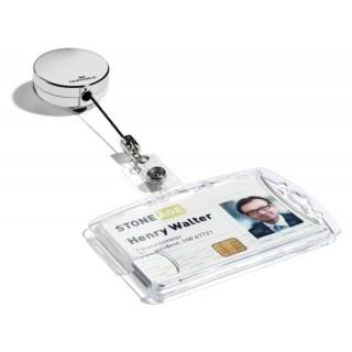 DURABLE Jojo 8225 für Ausweishalter 10 Stück silber