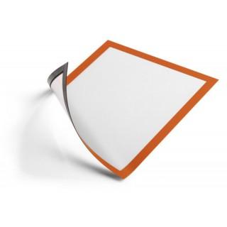 DURABLE Info-Rahmen Duraframe magnetic4869  5 Stück A4 orange