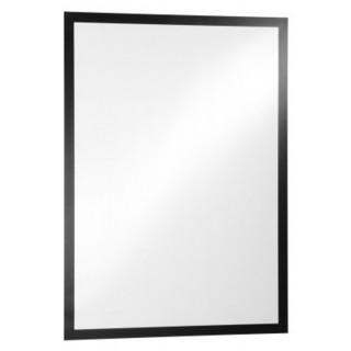 DURABLE Info-Rahmen Duraframe Poster 4995 A2 selbstklebend schwarz