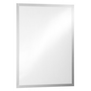 DURABLE Info-Rahmen Duraframe Poster 4997 A1 selbstklebend silber