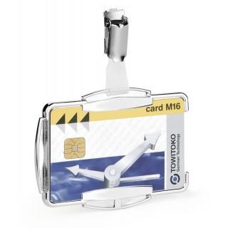 DURABLE Ausweishalter 8901 RFID Secure 10 Stück silber