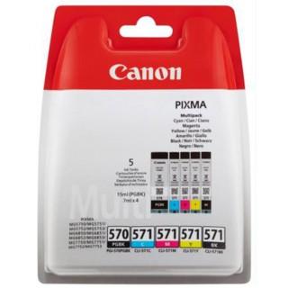 CANON Tintenpatrone Multipack PGI570/CLI571 mehrere Farben