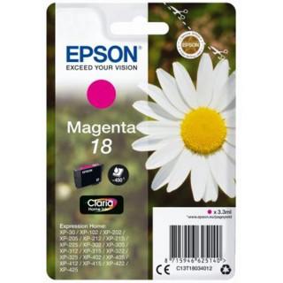 EPSON Tintenpatrone T18034012 Nr. 18 magenta