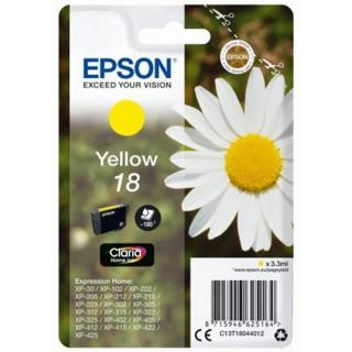 EPSON Tintenpatrone T18044012 Nr. 18 yellow