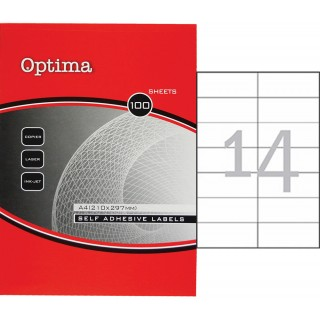 OPTIMA Etikett 32100 105 x 42,3 mm 100 Blatt