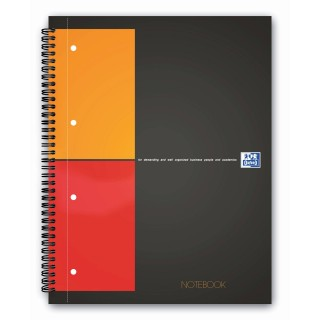 OXFORD Collegeblock Notebook A4+ 80 Blatt kariert