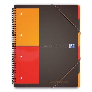 OXFORD Collegeblock Organizerbook A4+ 80 Blatt kariert