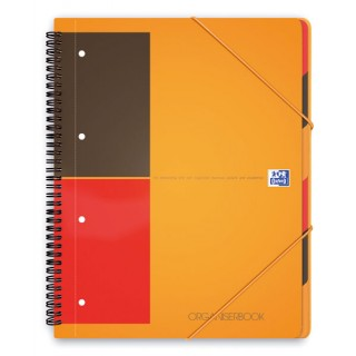 OXFORD Collegeblock Organizerbook A4+ 80 Blatt liniert